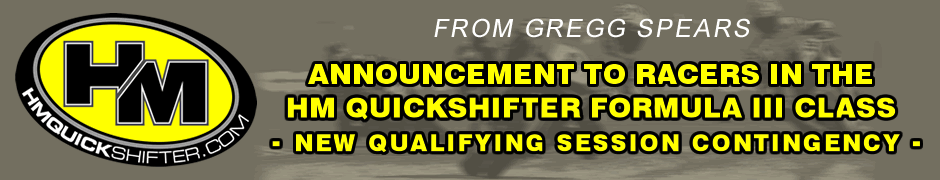 F III Qualifying Contingency